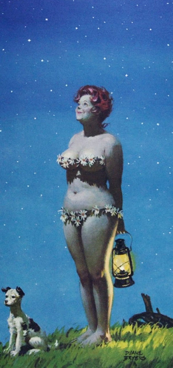 Din picanteriile anilor '50: Voluptoasa Hilda, in ilustratii simpatice - Poza 6