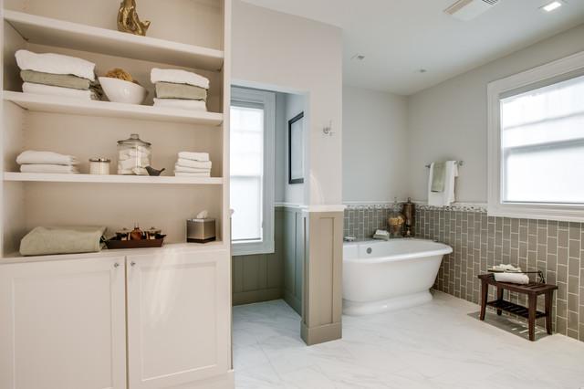 Idei de economisire a spatiului din baie - Poza 15