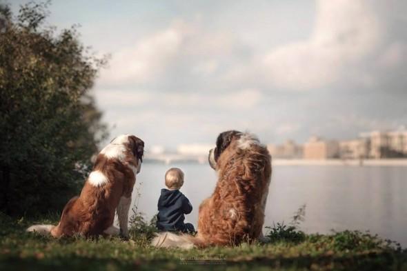Copilasi si prieteni uriasi, in poze superbe - Poza 23