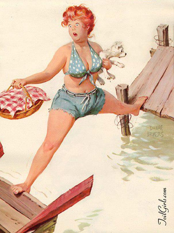Din picanteriile anilor '50: Voluptoasa Hilda, in ilustratii simpatice - Poza 8
