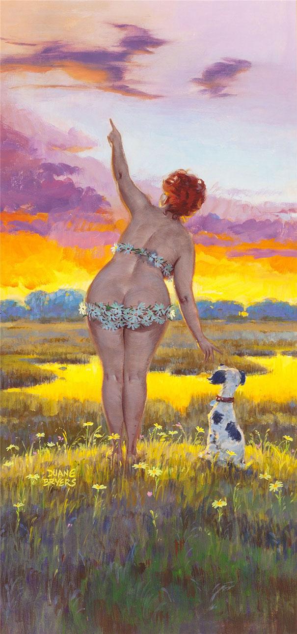 Din picanteriile anilor '50: Voluptoasa Hilda, in ilustratii simpatice - Poza 9