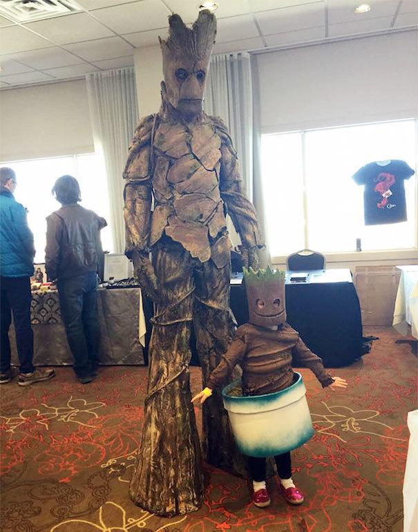 Gata de Halloween: Costume pereche pentru parinti si copii - Poza 17