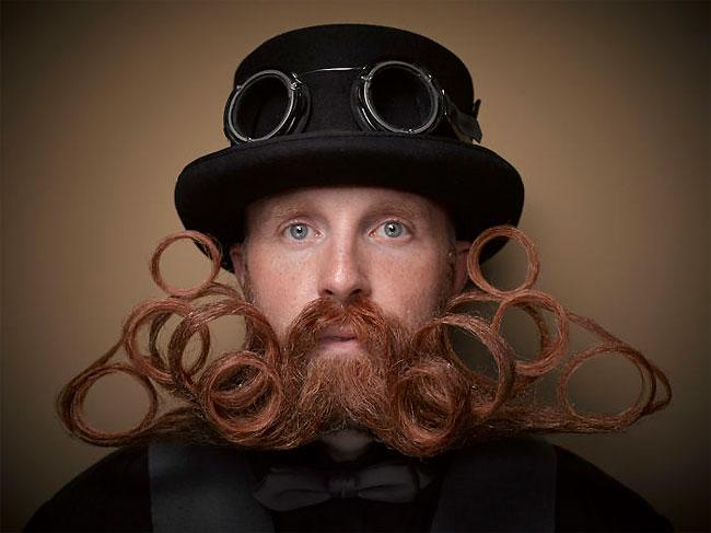 Barbi si mustati excentrice, intr-un pictorial haios - Poza 2