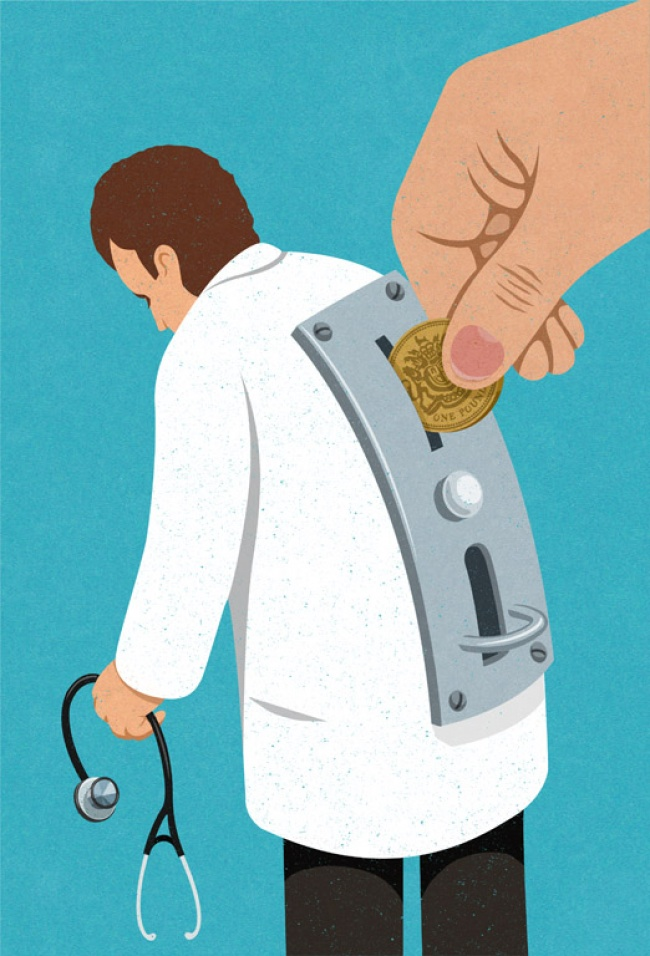 Drama omului controlat, in ilustratii satirice - Poza 20
