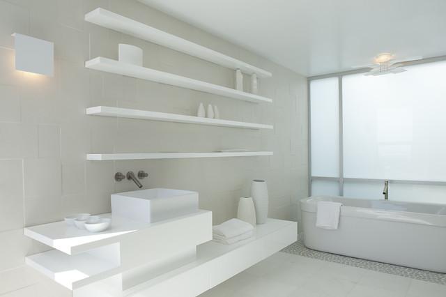 Idei de economisire a spatiului din baie - Poza 19