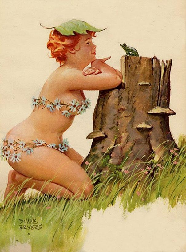 Din picanteriile anilor '50: Voluptoasa Hilda, in ilustratii simpatice - Poza 11