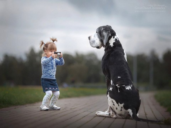 Copilasi si prieteni uriasi, in poze superbe - Poza 6
