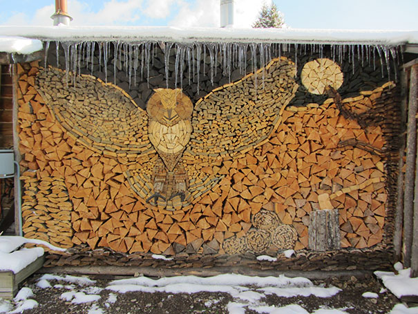 Creatii ingenioase cu lemne taiate - Poza 3