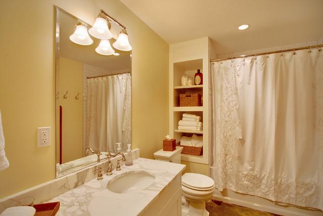 Idei de economisire a spatiului din baie - Poza 3