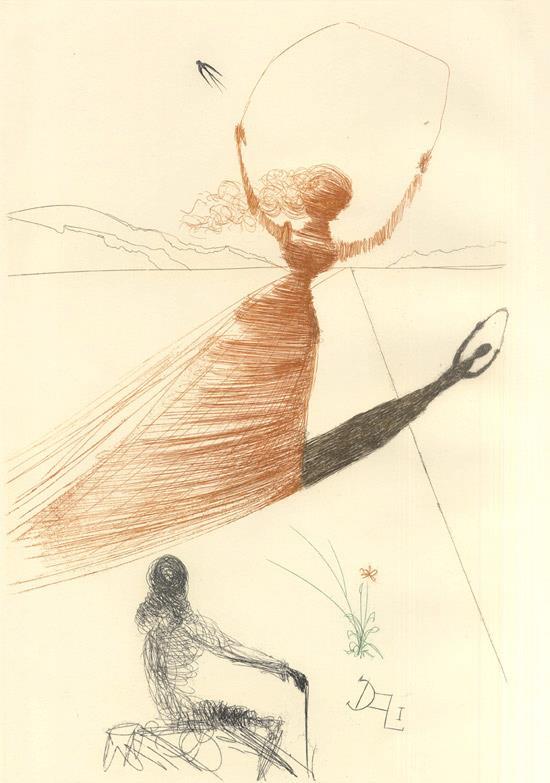 Alice in Tara Minunnilor, prin ochii lui Dali - Poza 1