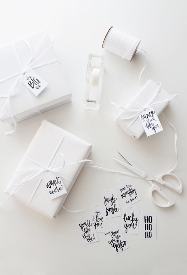 Idei geniale pentru impachetat cadouri - Poza 2