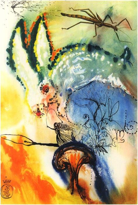 Alice in Tara Minunnilor, prin ochii lui Dali - Poza 2