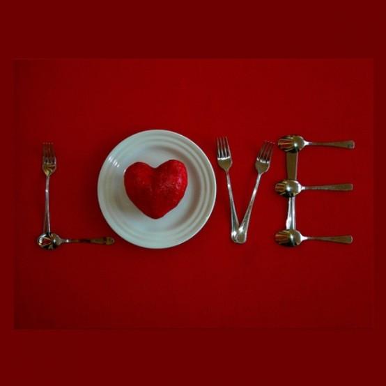 Idei de amenajare a mesei pentru cea mai romantica cina - Poza 2