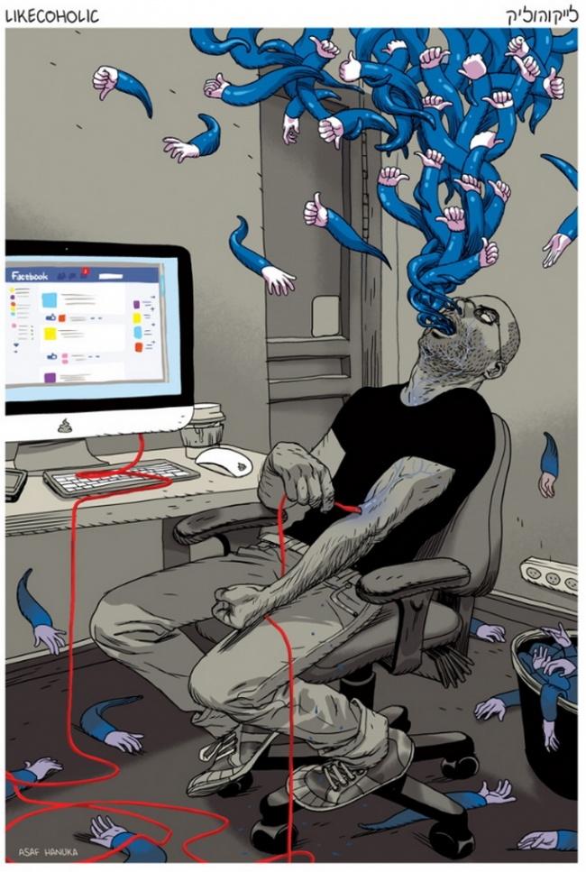 Ilustratii incisive despre tulburarile societatii actuale - Poza 3