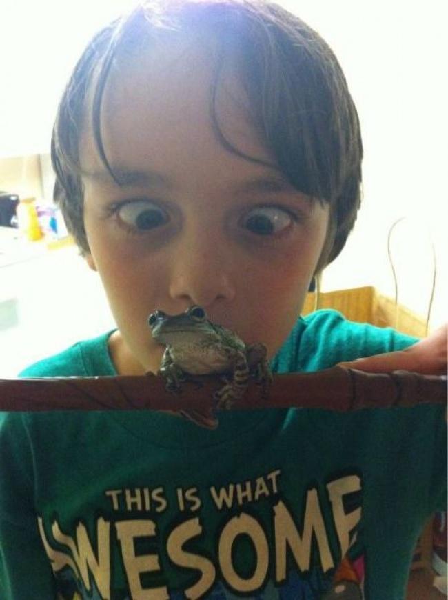 Trasnaile copilariei, in poze haioase - Poza 4