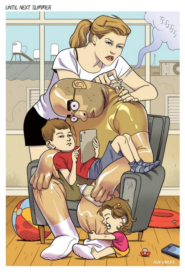 Ilustratii incisive despre tulburarile societatii actuale - Poza 4