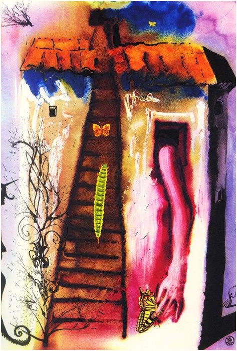 Alice in Tara Minunnilor, prin ochii lui Dali - Poza 4