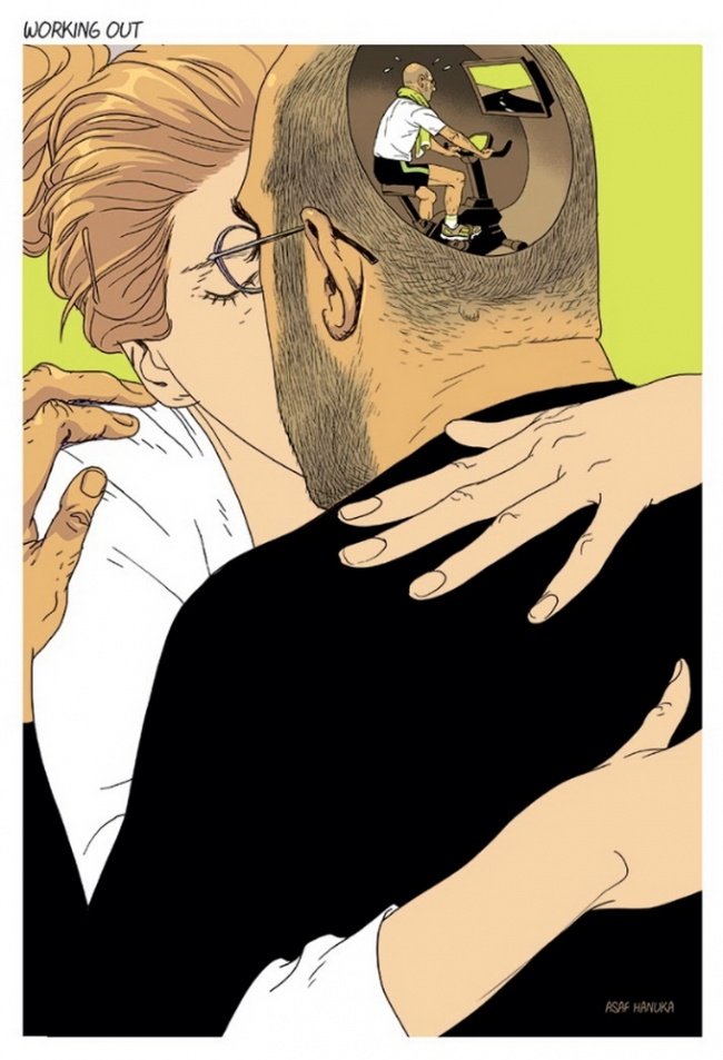 Ilustratii incisive despre tulburarile societatii actuale - Poza 5