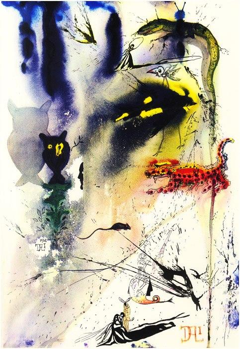 Alice in Tara Minunnilor, prin ochii lui Dali - Poza 5