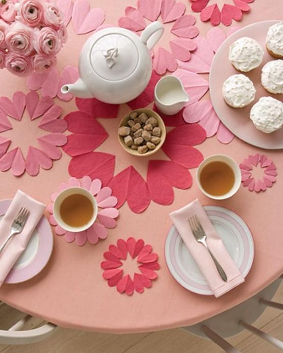 Idei de amenajare a mesei pentru cea mai romantica cina - Poza 5