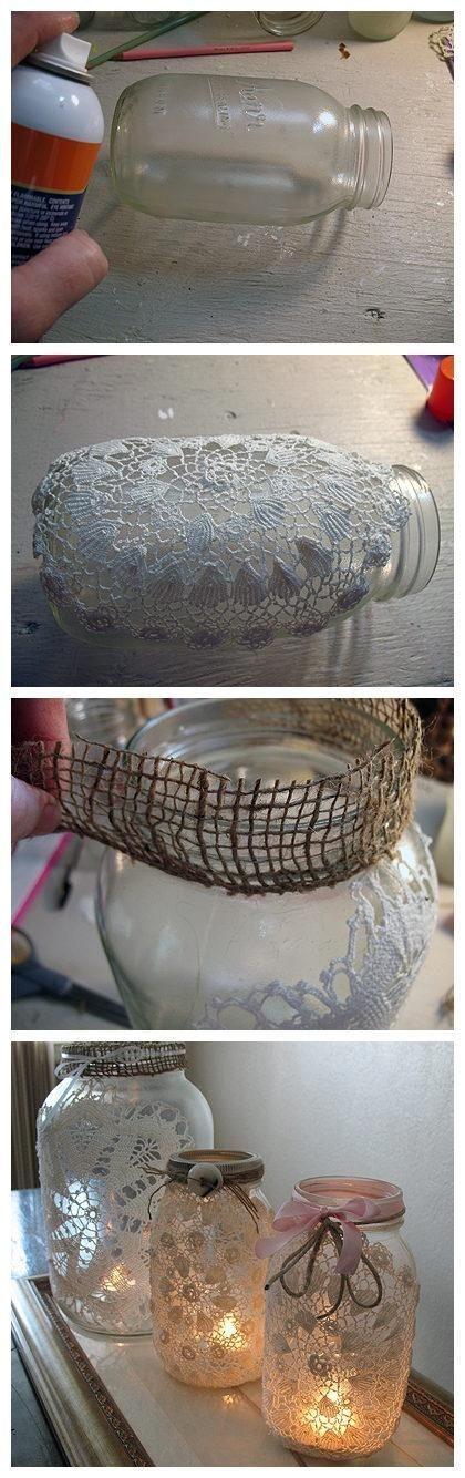 Idei de decoratiuni vintage facute manual - Poza 6