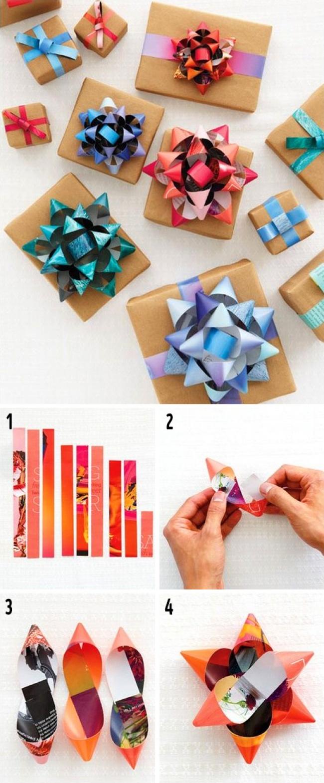Idei geniale pentru impachetat cadouri - Poza 6