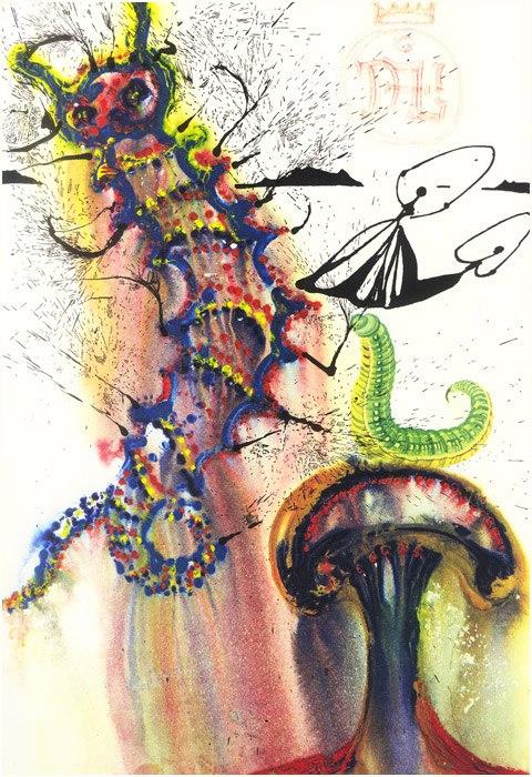 Alice in Tara Minunnilor, prin ochii lui Dali - Poza 6