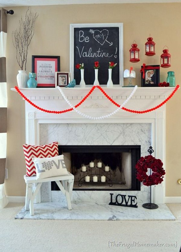 Decoratiuni minunate de Valentine's Day, facute manual - Poza 6