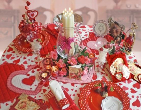 Idei de amenajare a mesei pentru cea mai romantica cina - Poza 6
