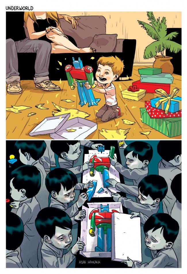 Ilustratii incisive despre tulburarile societatii actuale - Poza 7
