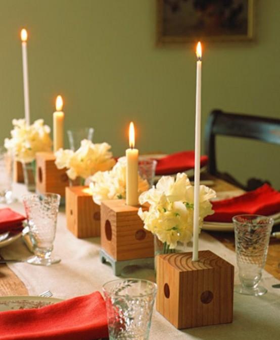 Idei de amenajare a mesei pentru cea mai romantica cina - Poza 7