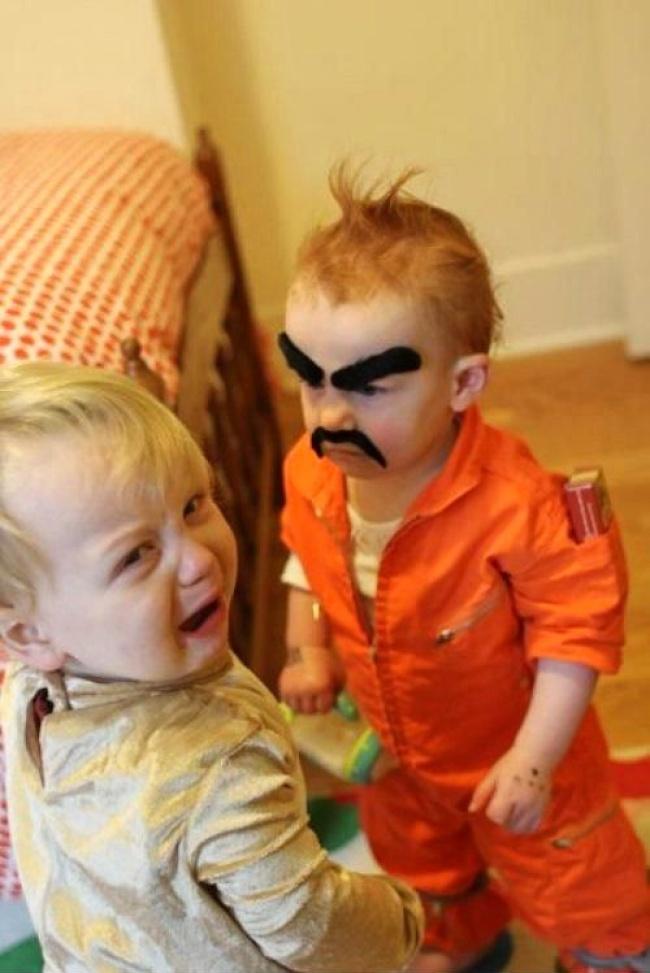 Trasnaile copilariei, in poze haioase - Poza 8