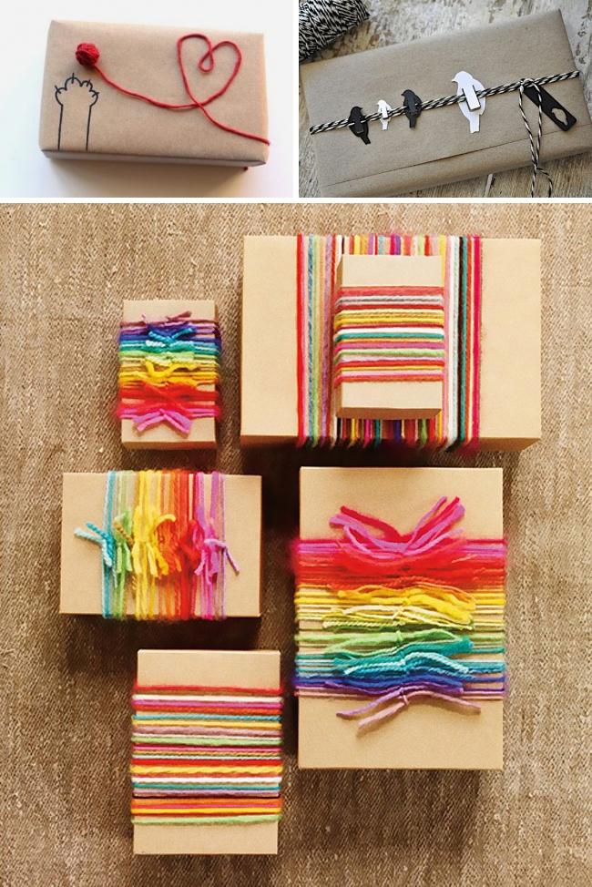 Idei geniale pentru impachetat cadouri - Poza 8
