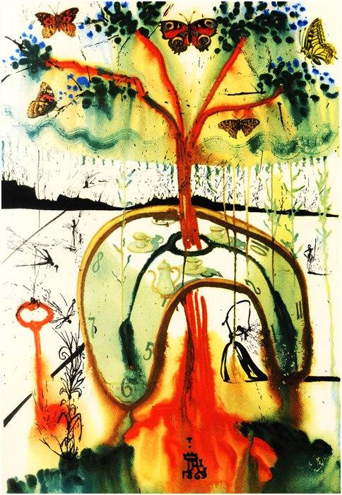 Alice in Tara Minunnilor, prin ochii lui Dali - Poza 8
