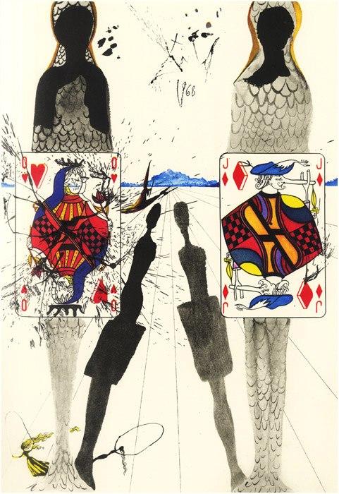 Alice in Tara Minunnilor, prin ochii lui Dali - Poza 9