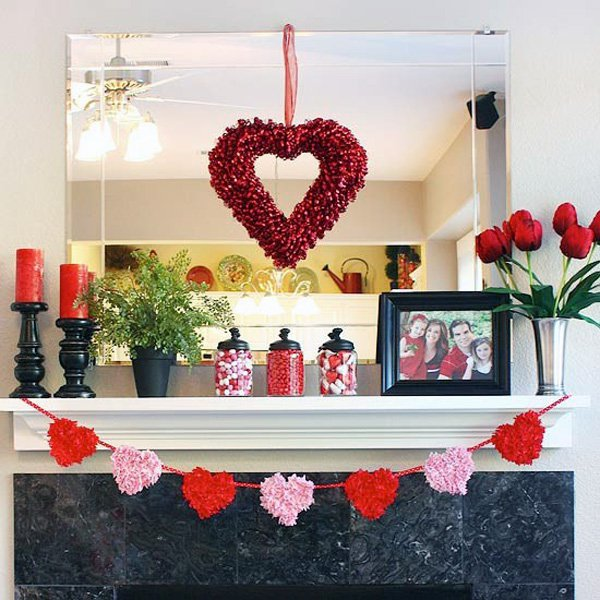 Decoratiuni minunate de Valentine's Day, facute manual - Poza 9