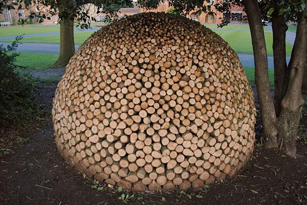Creatii ingenioase cu lemne taiate - Poza 4
