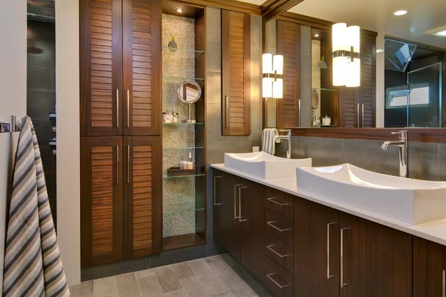 Idei de economisire a spatiului din baie - Poza 4
