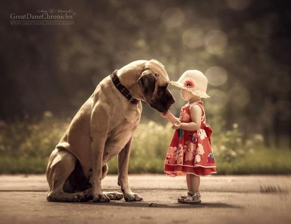 Copilasi si prieteni uriasi, in poze superbe - Poza 11