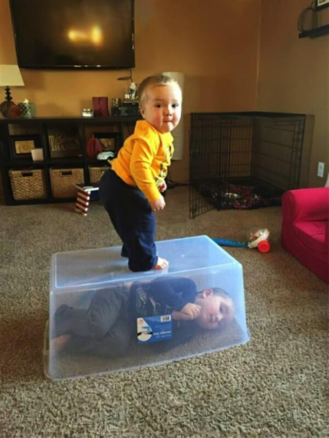 Trasnaile copilariei, in poze haioase - Poza 10