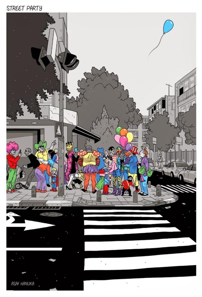 Ilustratii incisive despre tulburarile societatii actuale - Poza 10