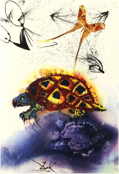 Alice in Tara Minunnilor, prin ochii lui Dali - Poza 10