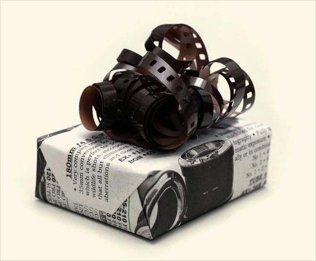 Idei geniale pentru impachetat cadouri - Poza 11