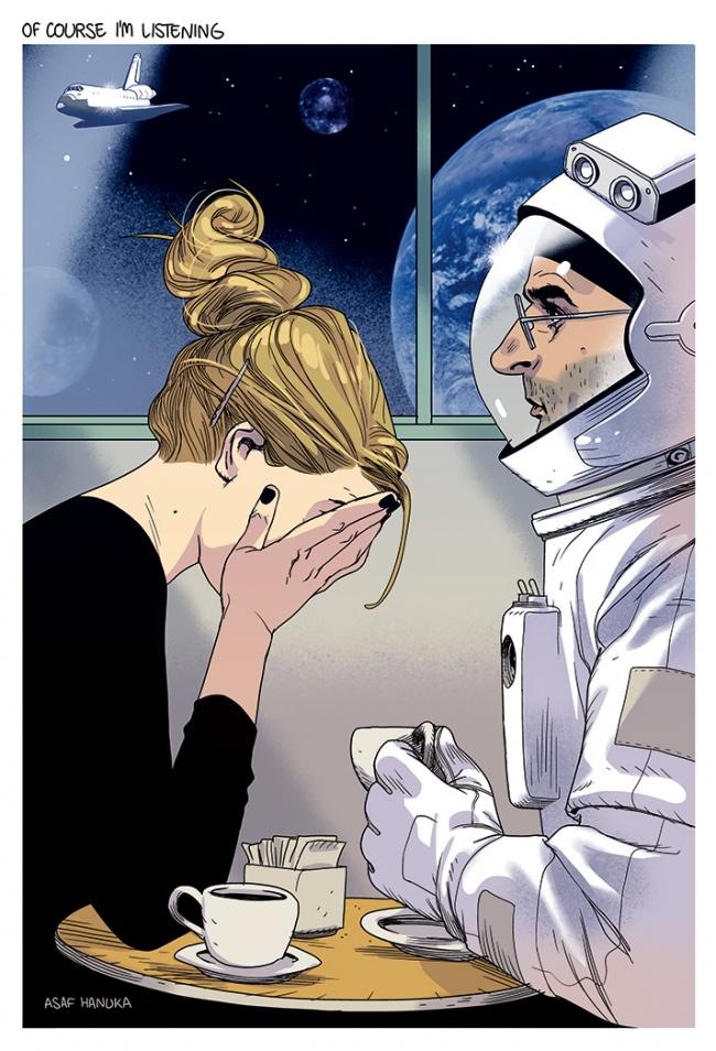 Ilustratii incisive despre tulburarile societatii actuale - Poza 11
