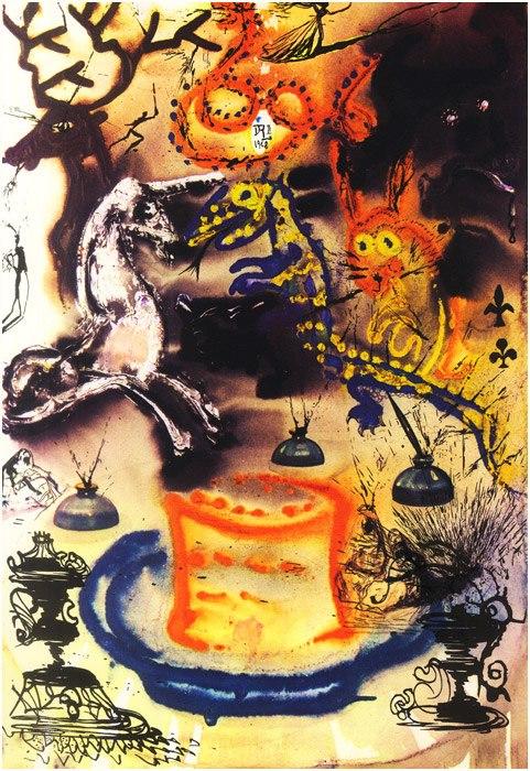 Alice in Tara Minunnilor, prin ochii lui Dali - Poza 11