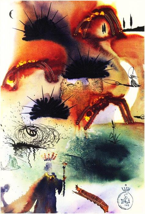Alice in Tara Minunnilor, prin ochii lui Dali - Poza 12