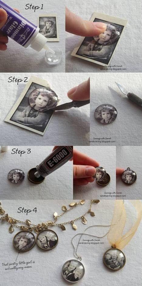 Idei de decoratiuni vintage facute manual - Poza 13