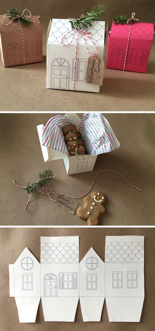 Idei geniale pentru impachetat cadouri - Poza 14