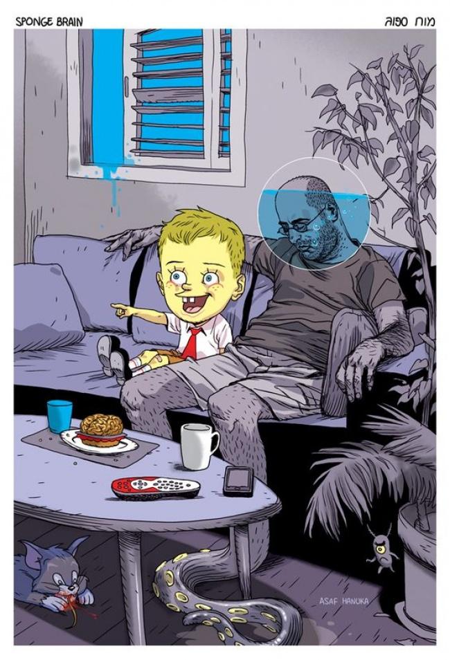 Ilustratii incisive despre tulburarile societatii actuale - Poza 15