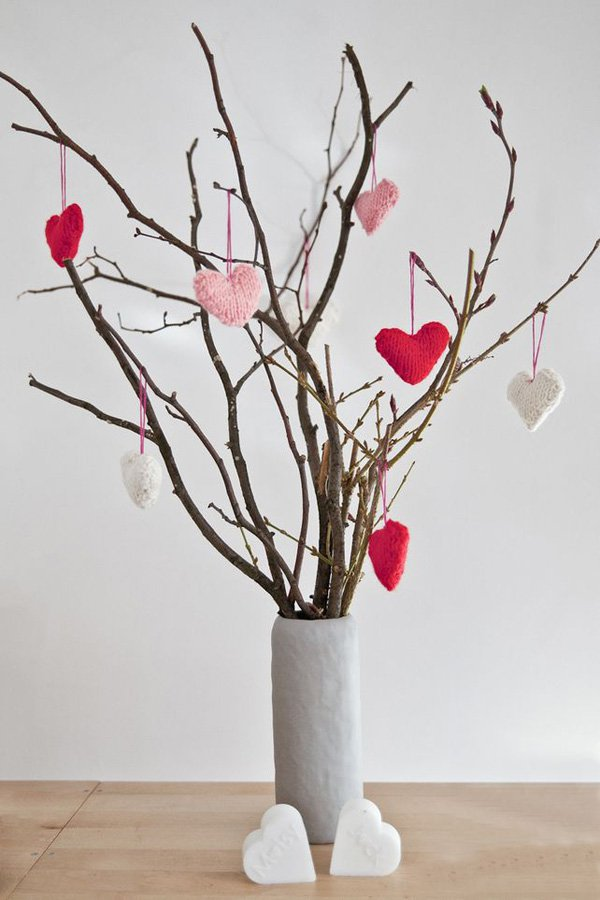 Decoratiuni minunate de Valentine's Day, facute manual - Poza 15